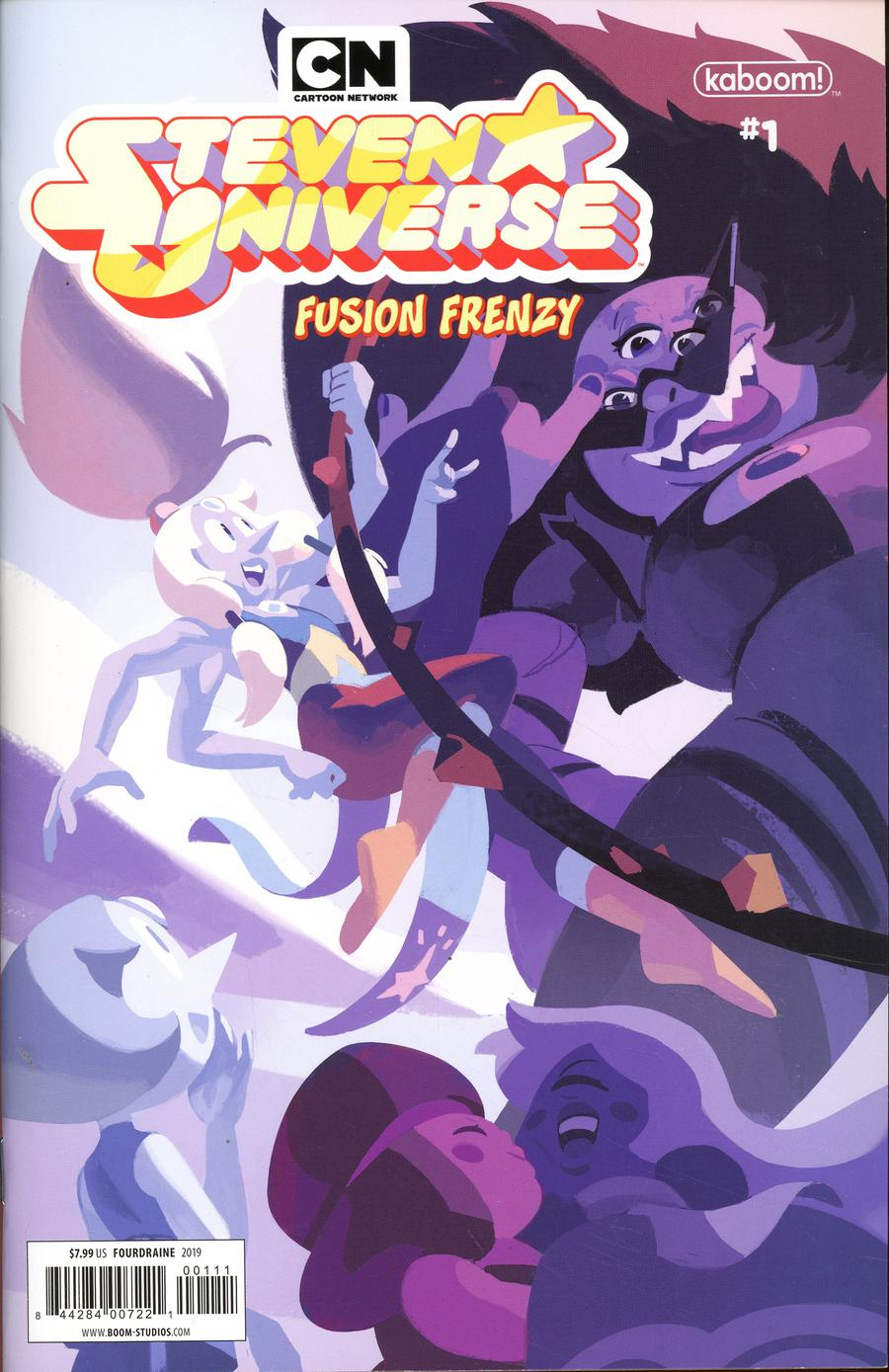 Steven Universe Fusion Frenzy #1 Cover A Regular Nathalie Fourdraine Connecting Cover