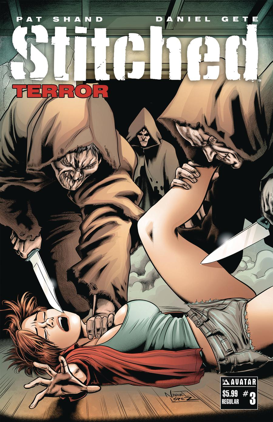 Stitched Terror #3 Cover A Regular Cover