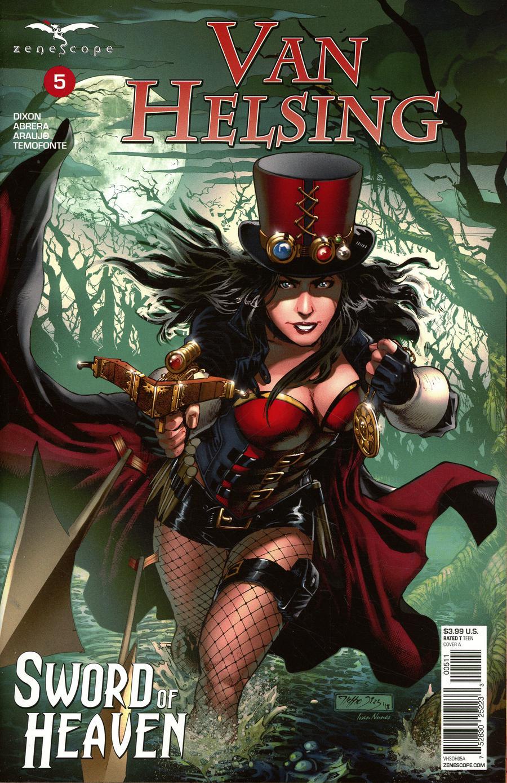 Grimm Fairy Tales Presents Van Helsing Sword Of Heaven #5 Cover A Netho Diaz