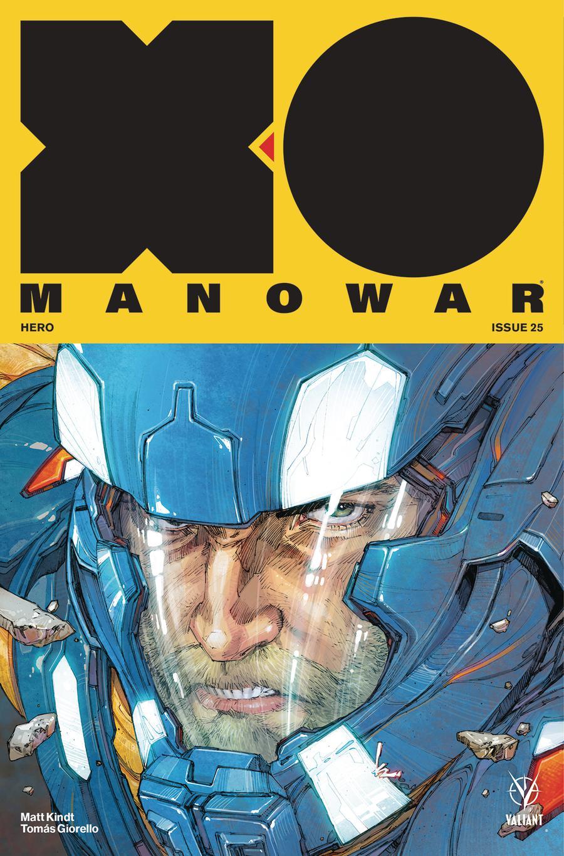 X-O Manowar Vol 4 #25 Cover A Regular Kenneth Rocafort Cover