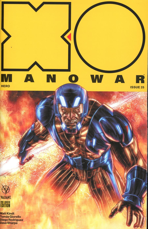 X-O Manowar Vol 4 #25 Cover D Variant Tomas Giorello Cover