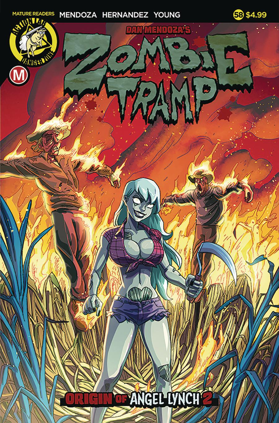 Zombie Tramp Vol 2 #58 Cover A Regular Winston Young Cover