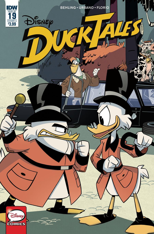 Ducktales Vol 4 #19 Cover A Regular Cover