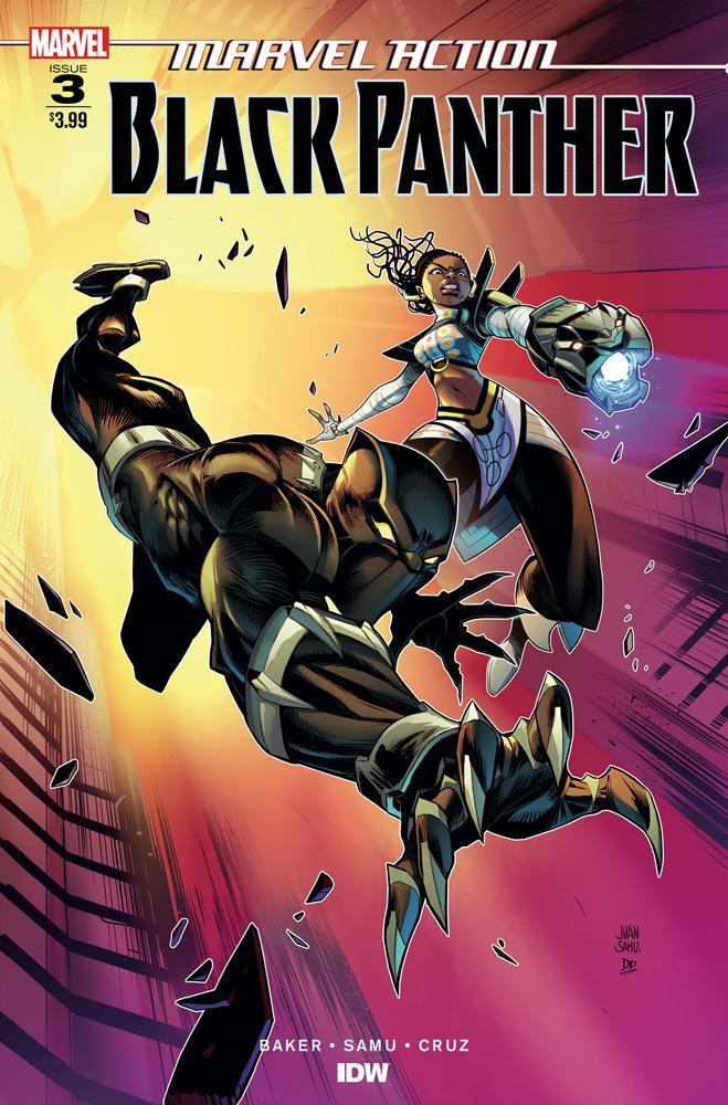 Marvel Action Black Panther #3 Cover A Regular Juan Samu Cover