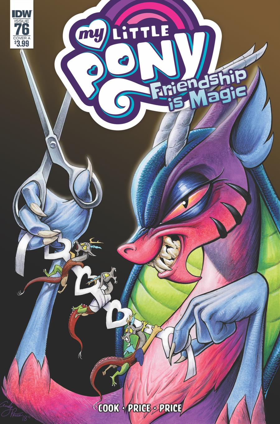 My Little Pony Friendship Is Magic #76 Cover A Regular Andy Price Cover