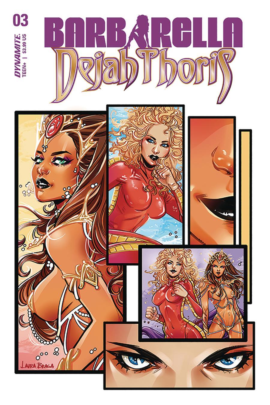 Barbarella Dejah Thoris #3 Cover A Regular Laura Braga Cover