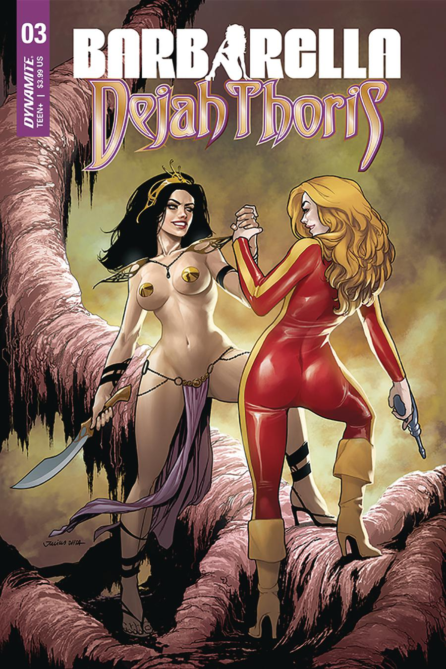 Barbarella Dejah Thoris #3 Cover C Variant Julius Ohta Cover