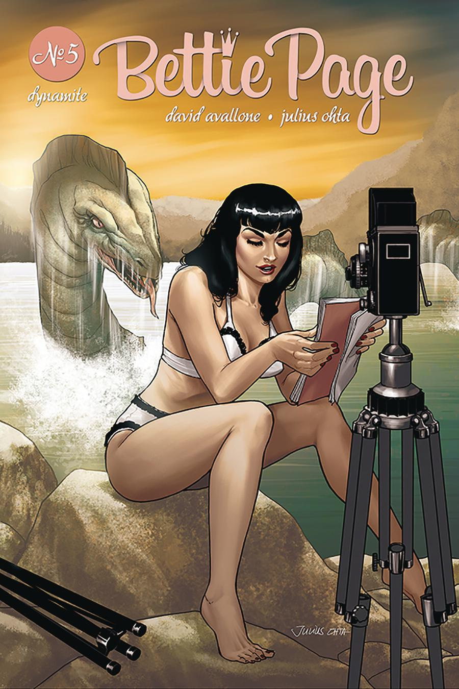 Bettie Page Vol 2 #5 Cover D Variant Julius Ohta Cover
