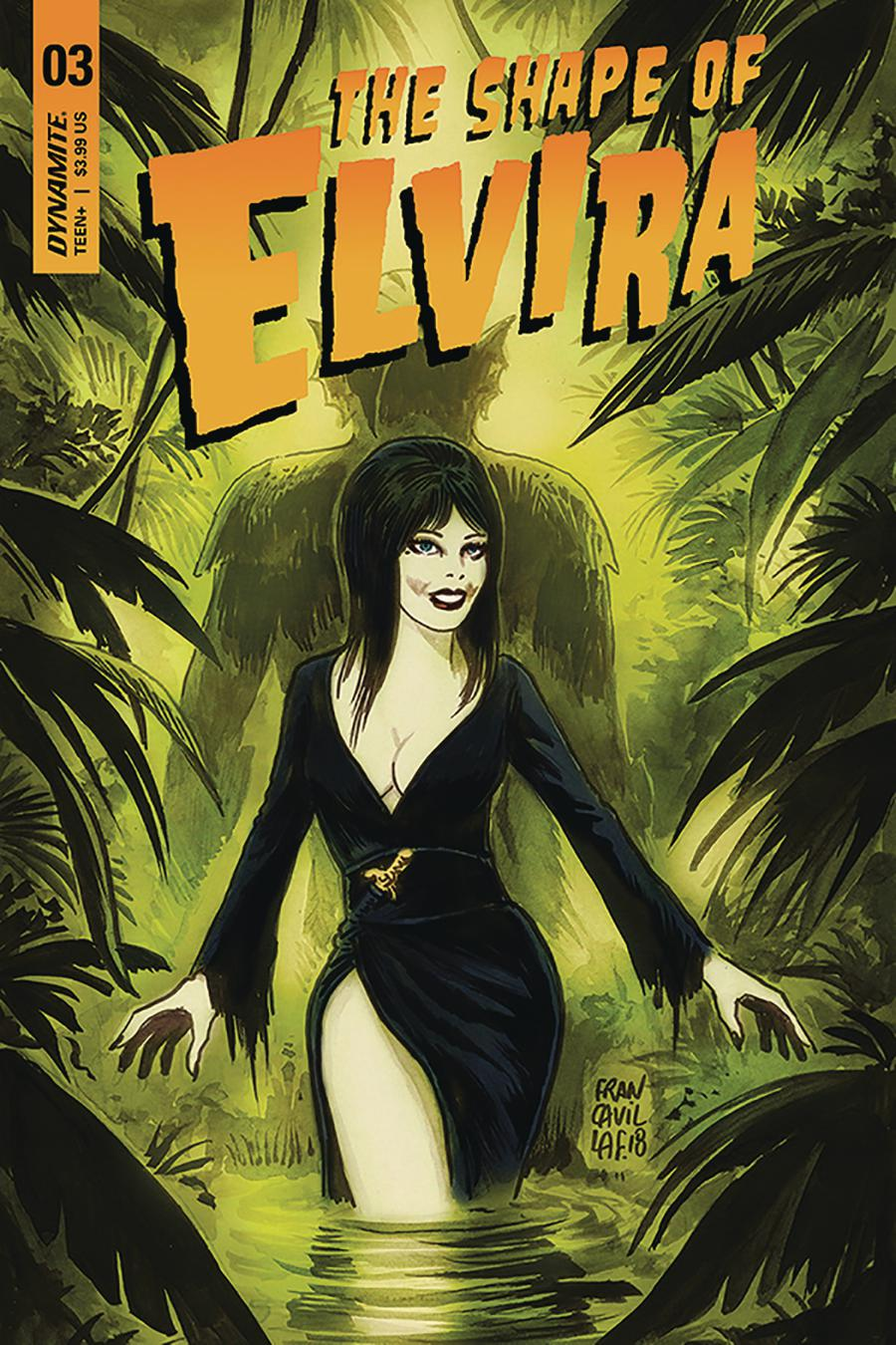 Elvira Shape Of Elvira #3 Cover A Regular Francesco Francavilla Cover