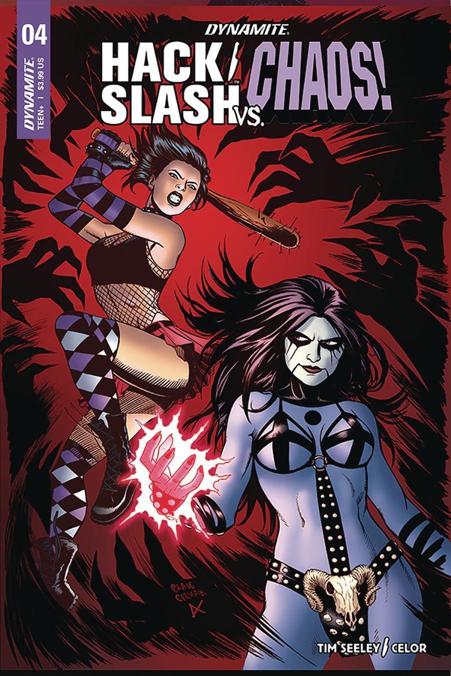 Hack Slash vs Chaos #4 Cover B Variant Craig Cermak Cover