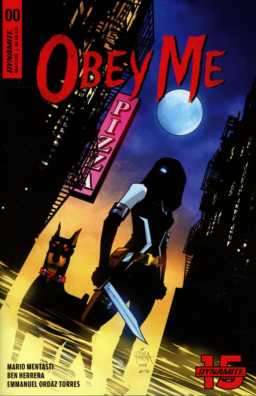 Obey Me #0 Cover A Regular Ben Herrera Cover