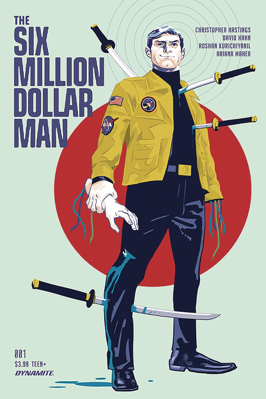 Six Million Dollar Man Vol 2 #1 Cover A Regular Michael Walsh Cover