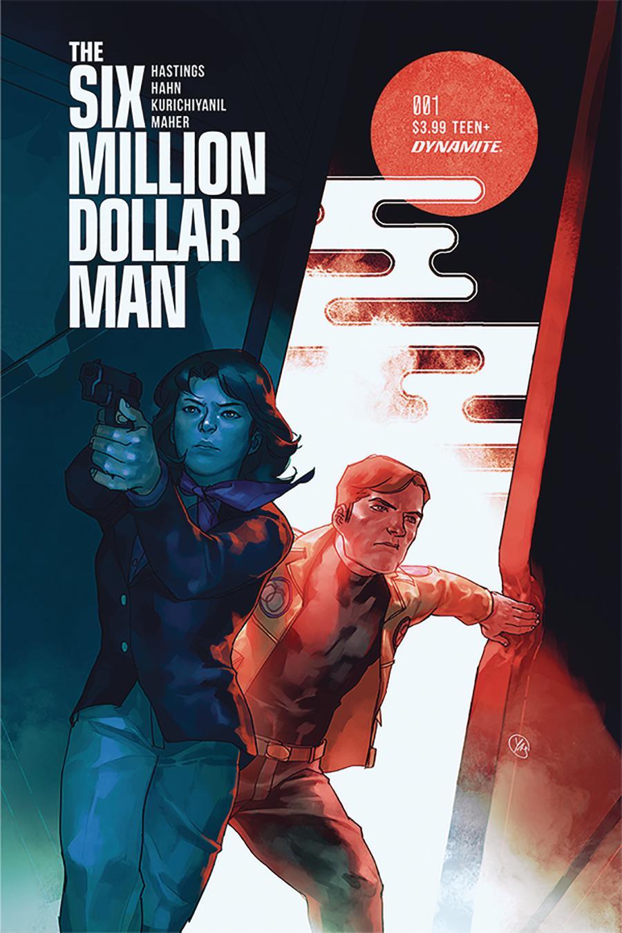 Six Million Dollar Man Vol 2 #1 Cover B Variant Yasmine Putri Cover