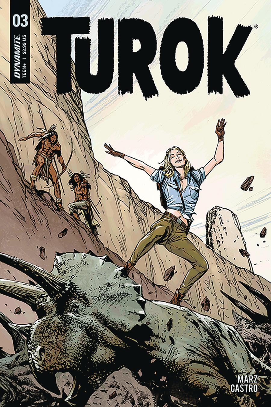 Turok Vol 3 #3 Cover B Variant Butch Guice Cover