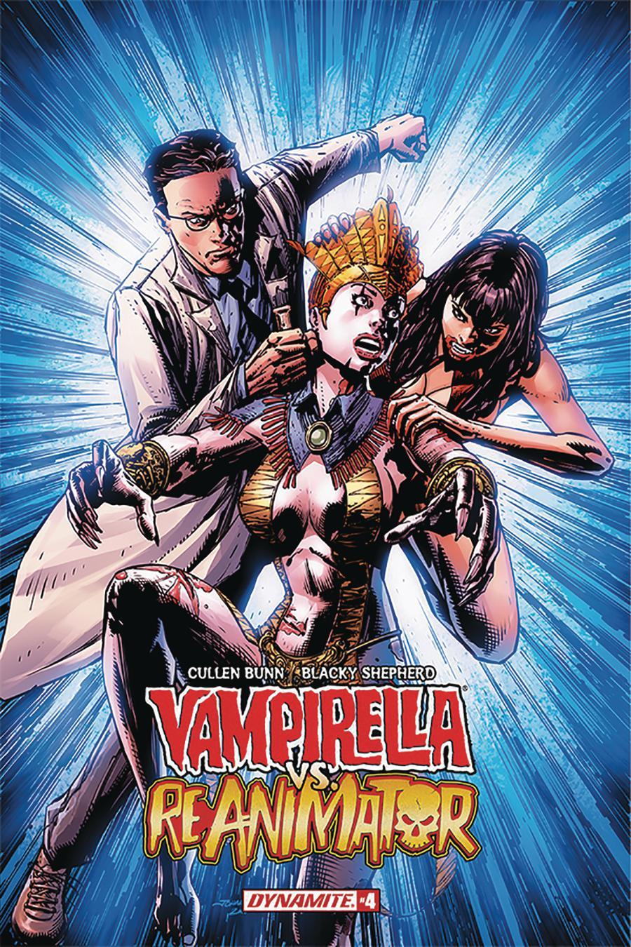 Vampirella vs Reanimator #4 Cover A Regular Johnny Desjardins Cover