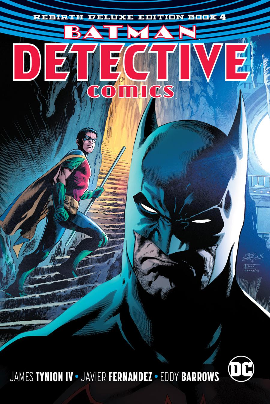 Batman Detective Comics Rebirth Deluxe Edition Book 4 HC