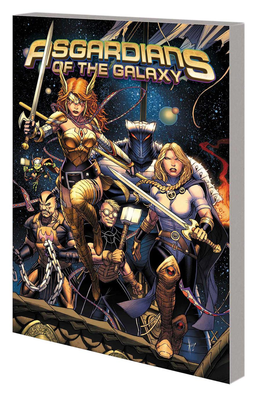 Asgardians Of The Galaxy Vol 1 Infinity Armada TP