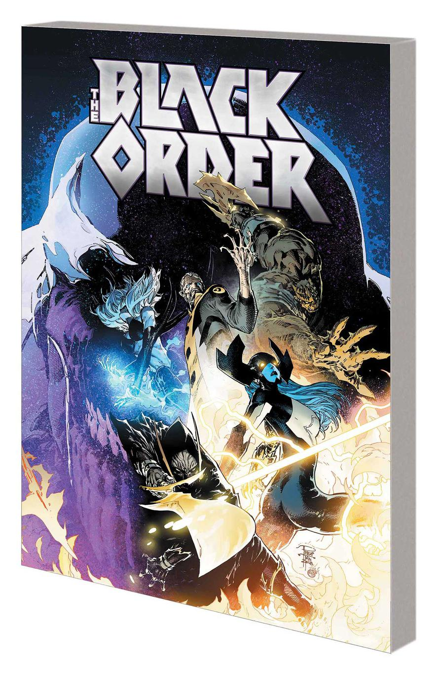 Black Order Warmasters Of Thanos TP