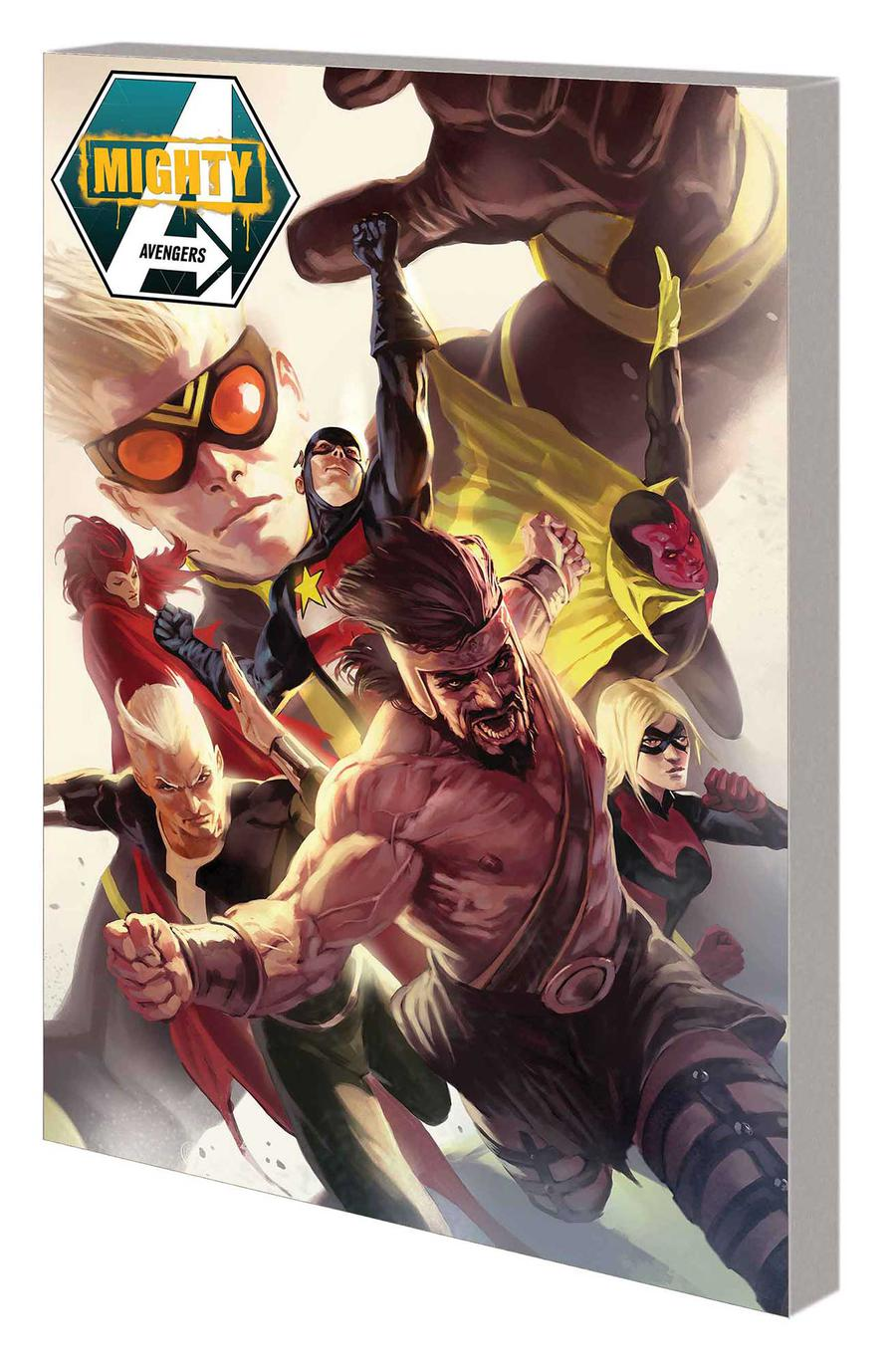 Mighty Avengers By Dan Slott Complete Collection TP