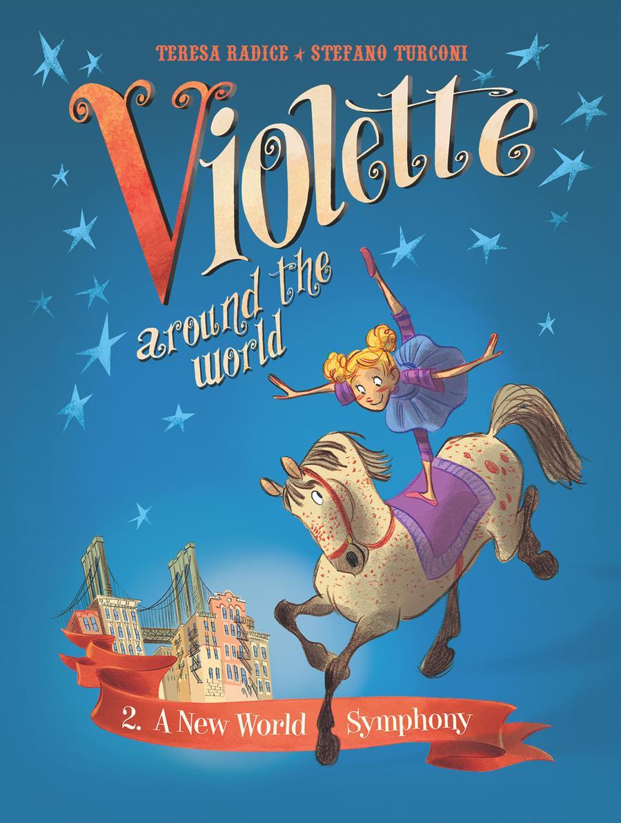 Violette Around The World Vol 2 A New World Symphony HC