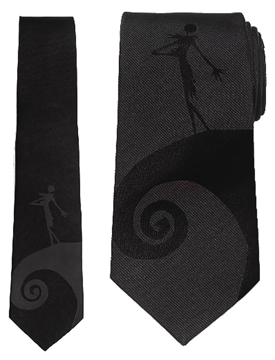 Nightmare Before Christmas Jack Skellington Necktie