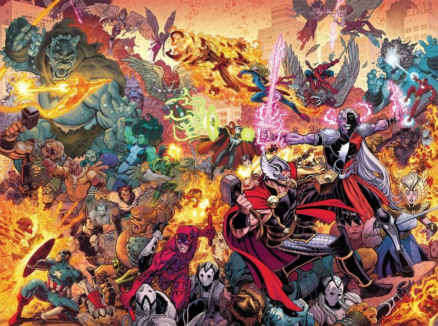 War Of The Realms By Arthur Adams Poster