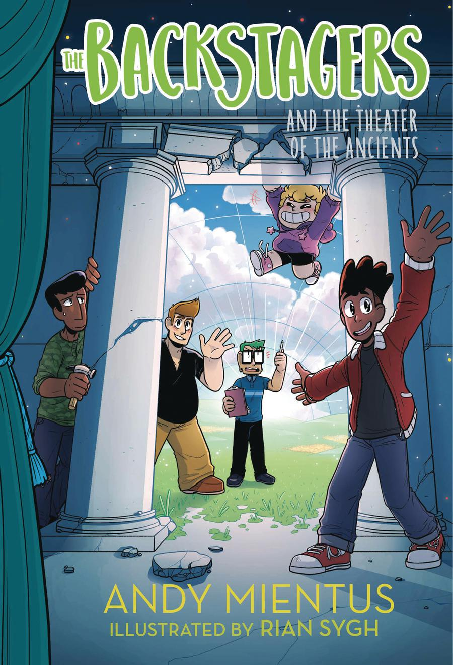 Backstagers Illustrated Novel Vol 2 Backstagers And The Theater Of The Ancients HC