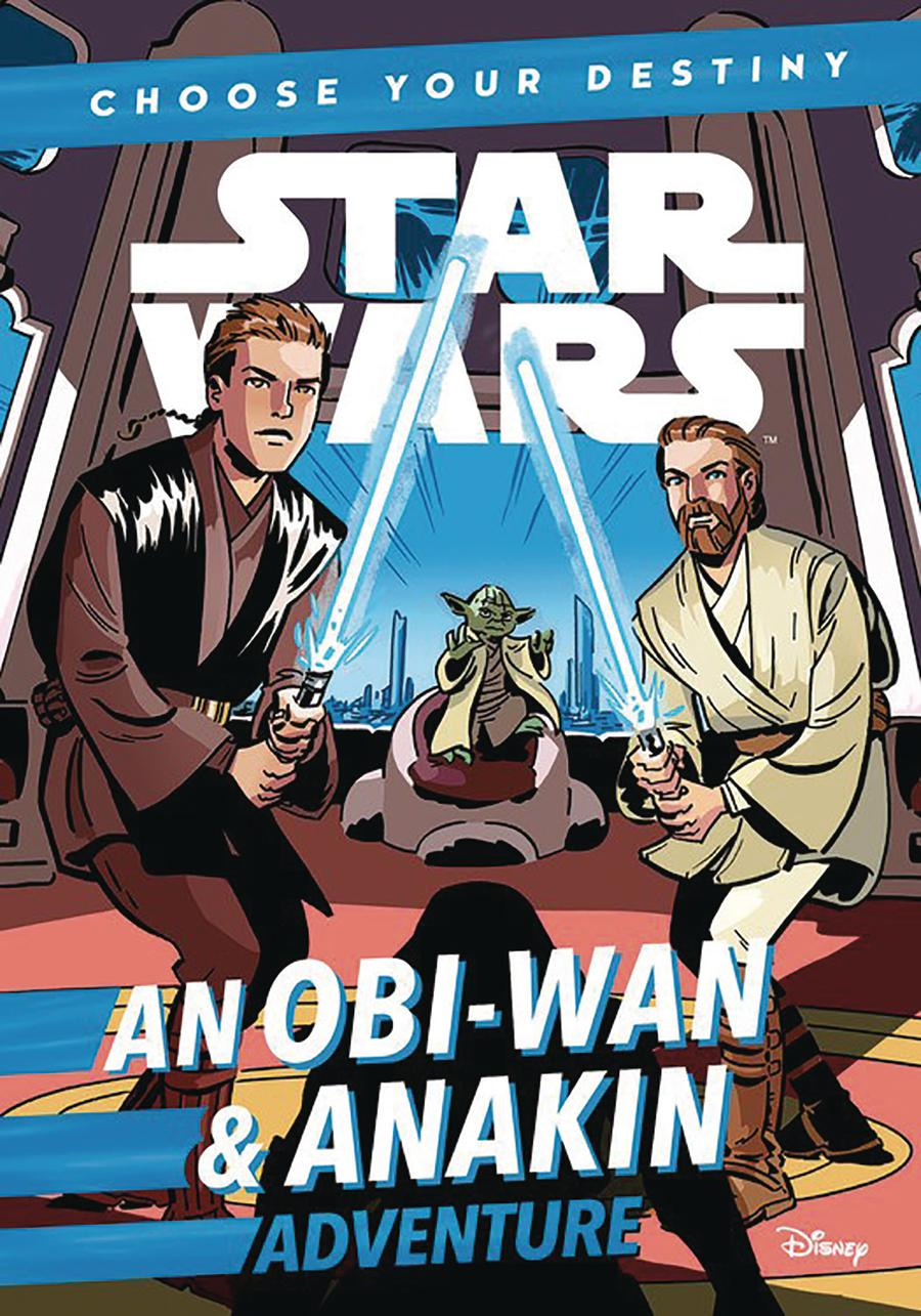 Star Wars An Obi-Wan & Anakin Adventure Choose Your Destiny TP