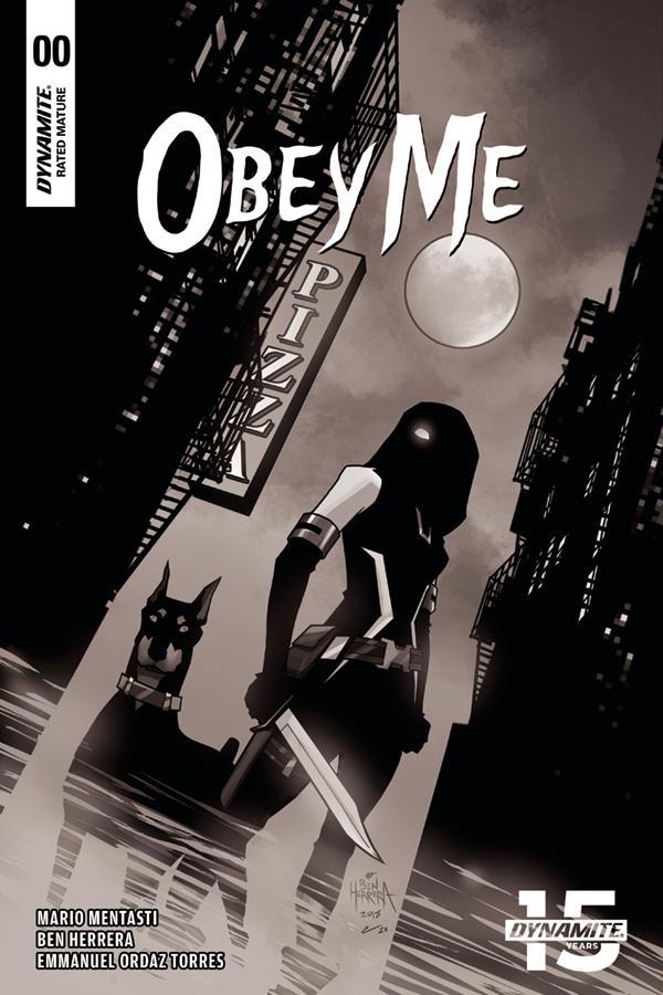 Obey Me #0 Cover C Incentive Ben Herrera Black & White A Cover