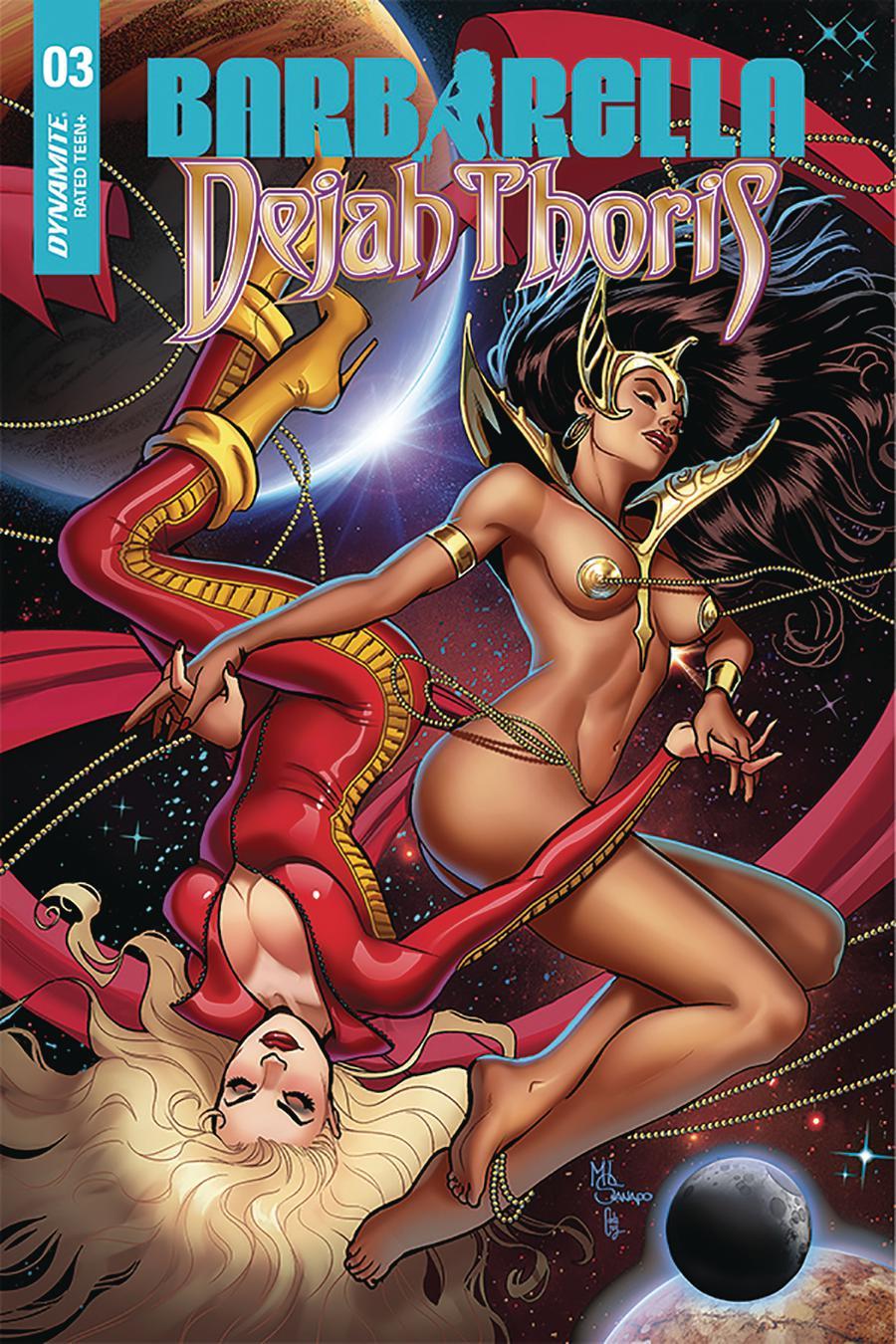 Barbarella Dejah Thoris #3 Cover F Incentive Maria Sanapo Seduction Variant Cover