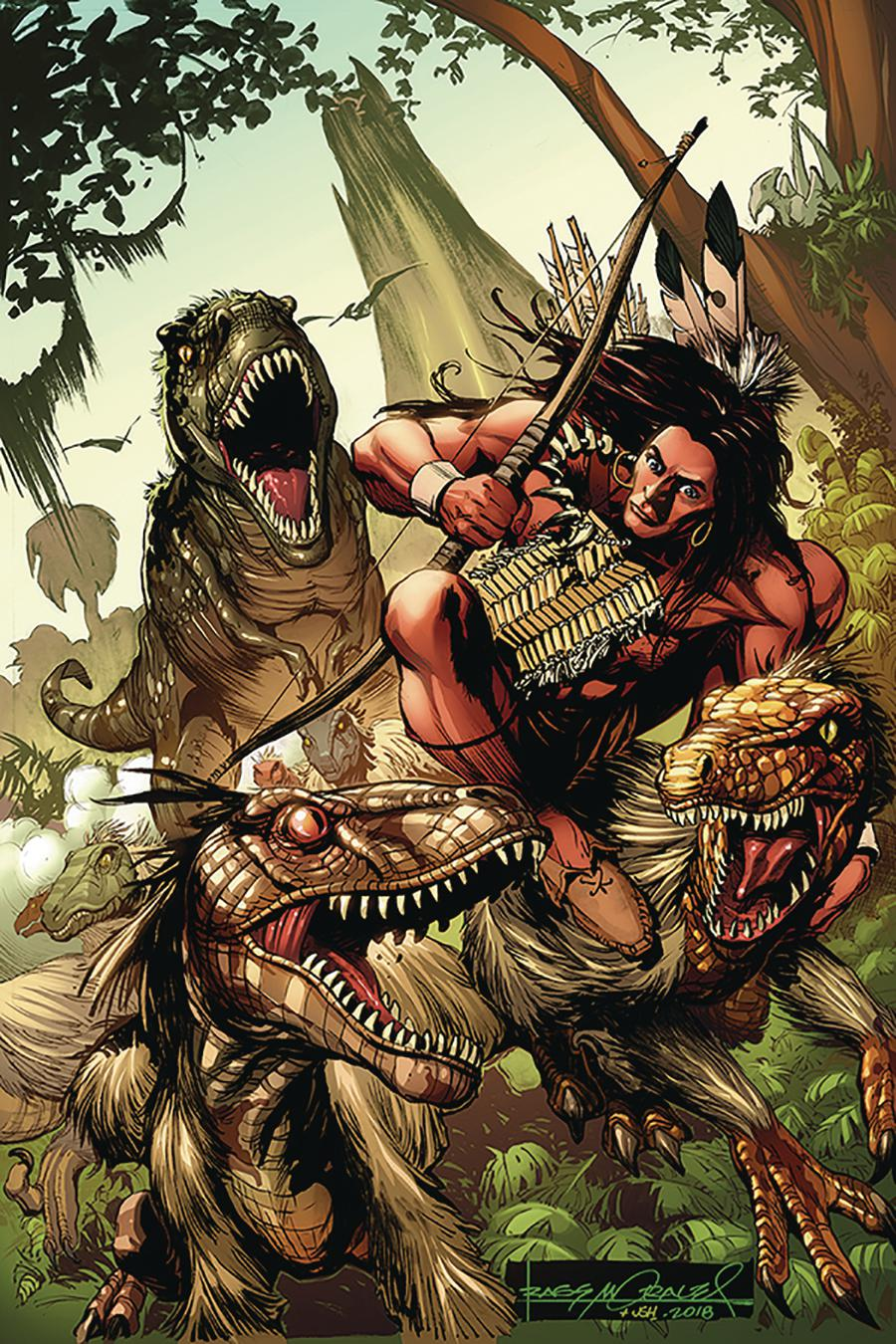 Turok Vol 3 #3 Cover E Incentive Rags Morales Virgin Cover