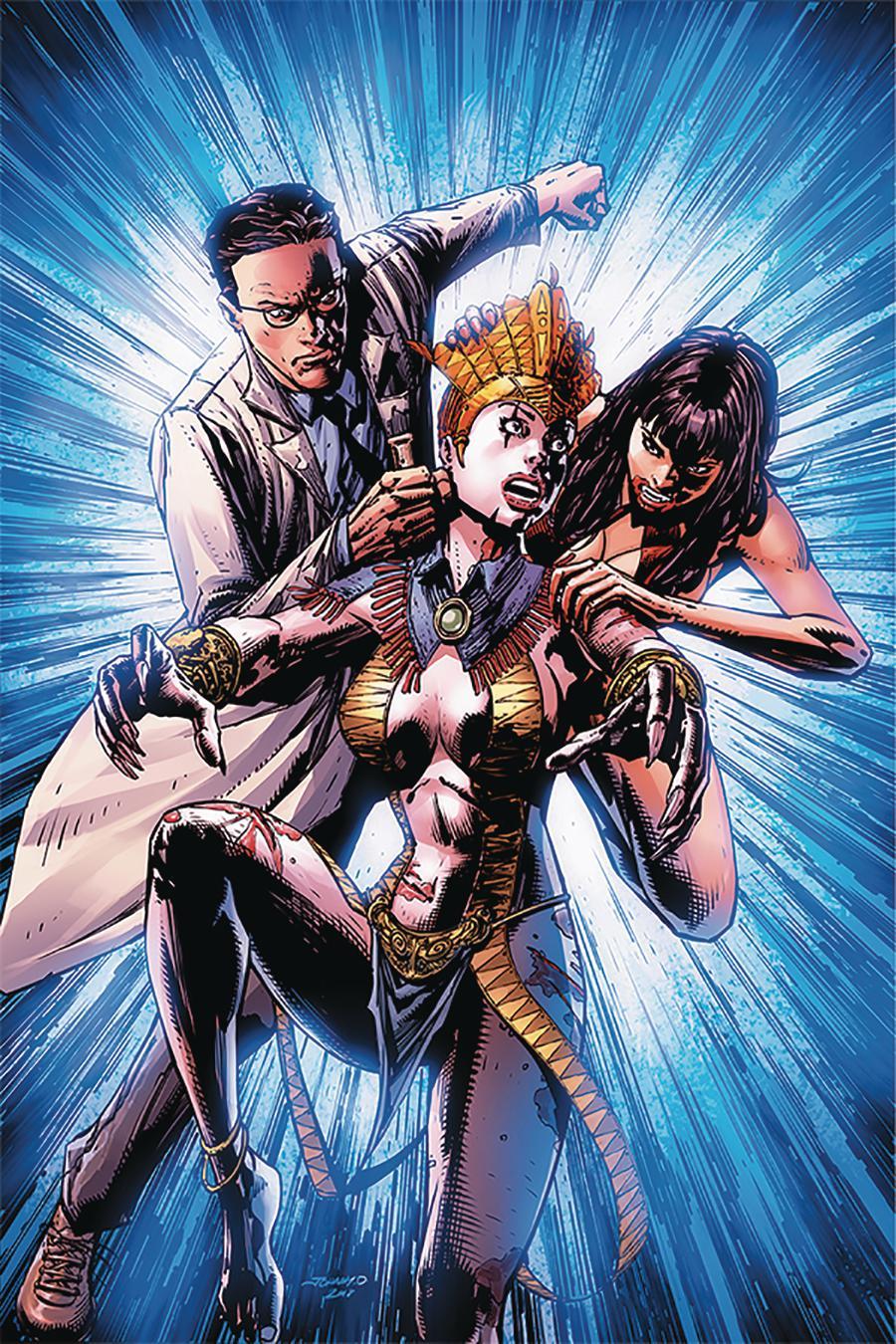 Vampirella vs Reanimator #4 Cover I Incentive Johnny Desjardins Virgin Cover