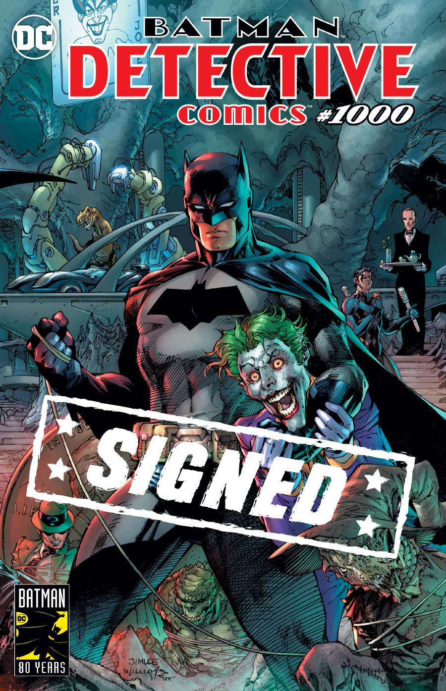 Detective Comics Vol 2 #1000 Cover O DF Signed By Scott Snyder