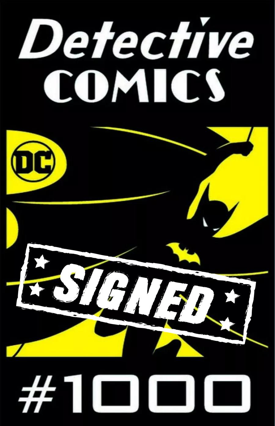 Detective Comics Vol 2 #1000 Cover R DF Andy Kubert Variant Cover Signed By Andy Kubert