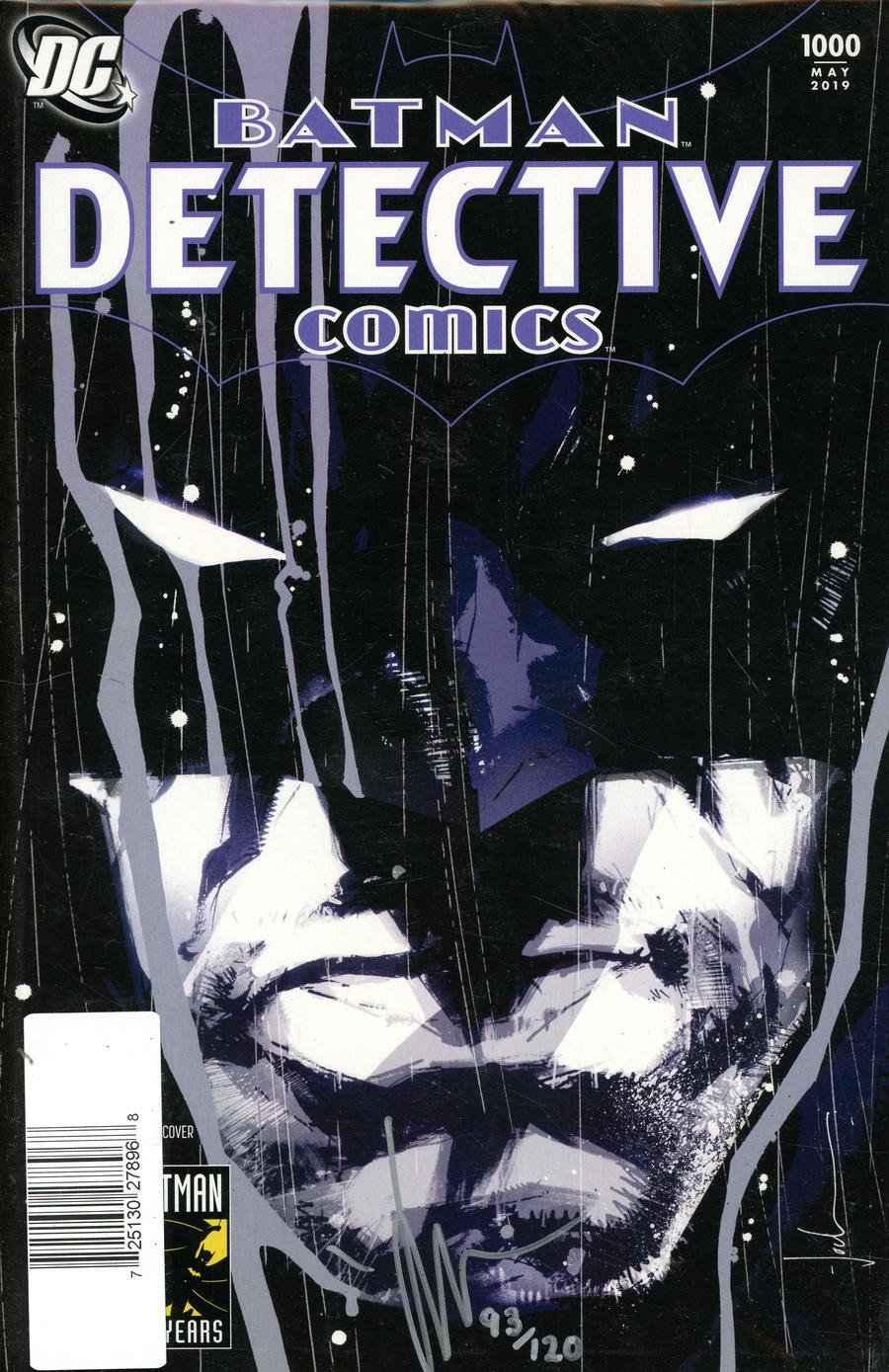 Detective Comics Vol 2 #1000 Cover Z DF Jock 2000s Variant Cover Signed By Jock