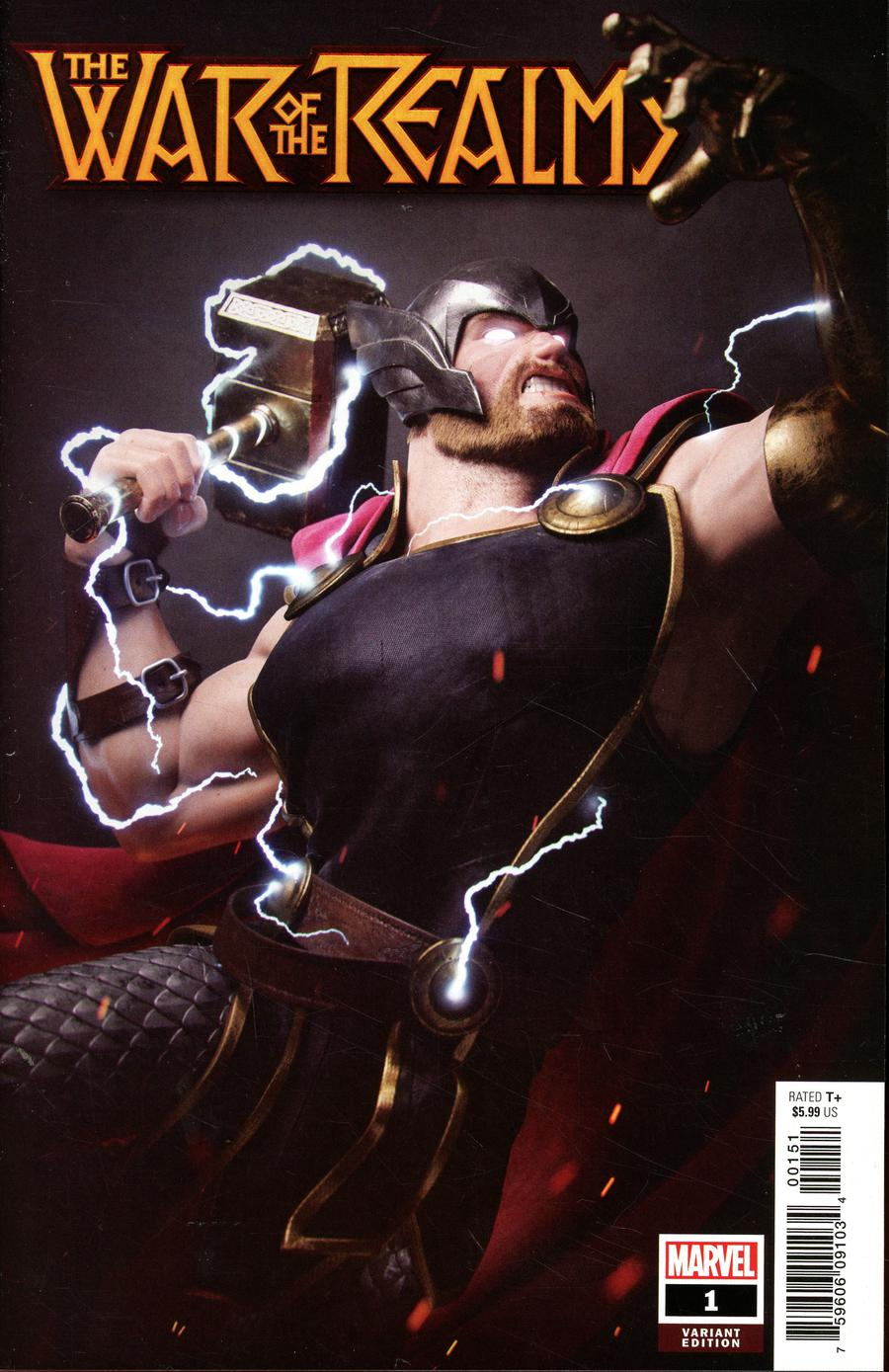 War Of The Realms #1 Cover T Incentive Victor Hugo Variant Cover