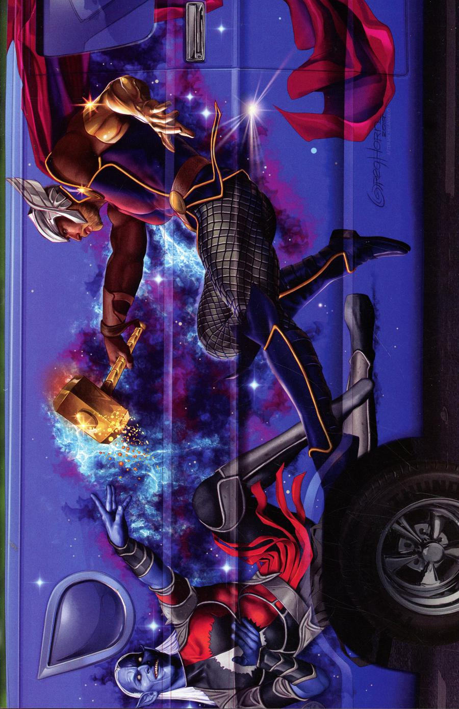 War Of The Realms #1 Cover R Incentive Greg Horn Van Variant Cover