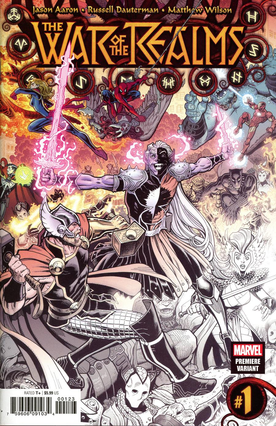 War Of The Realms #1 Cover Z Incentive Arthur Adams Premiere Variant Cover
