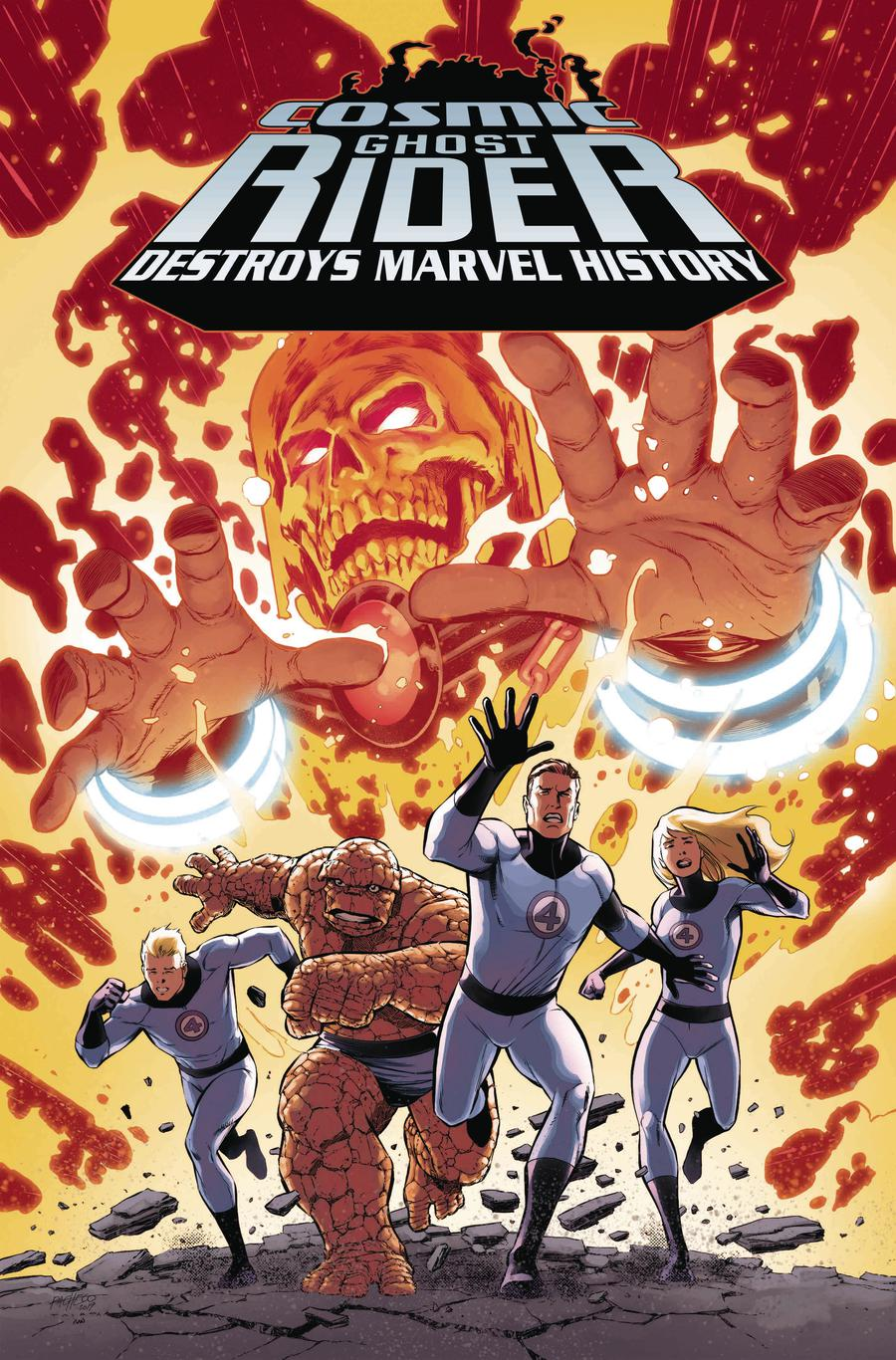 Cosmic Ghost Rider Destroys Marvel History #1 Cover C Incentive Carlos Pacheco Variant Cover