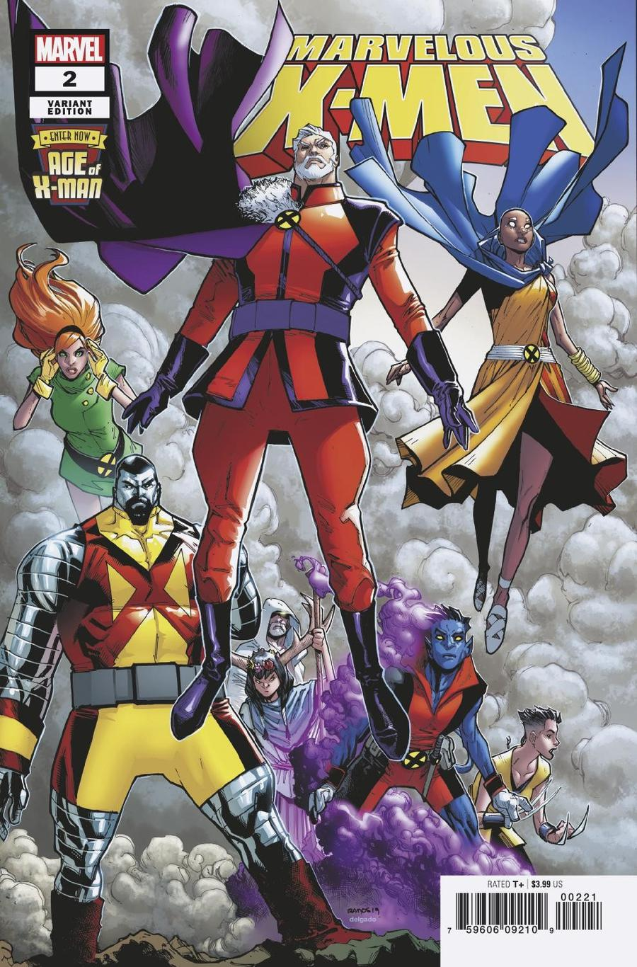 Age Of X-Man Marvelous X-Men #2 Cover B Incentive Humberto Ramos Variant Cover