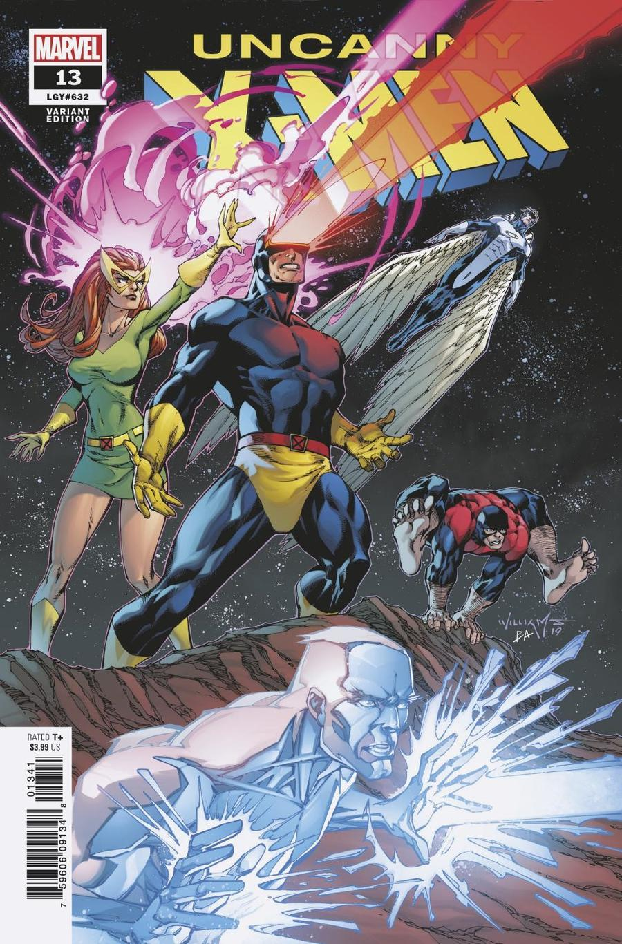 Uncanny X-Men Vol 5 #13 Cover D Incentive Scott Williams Variant Cover