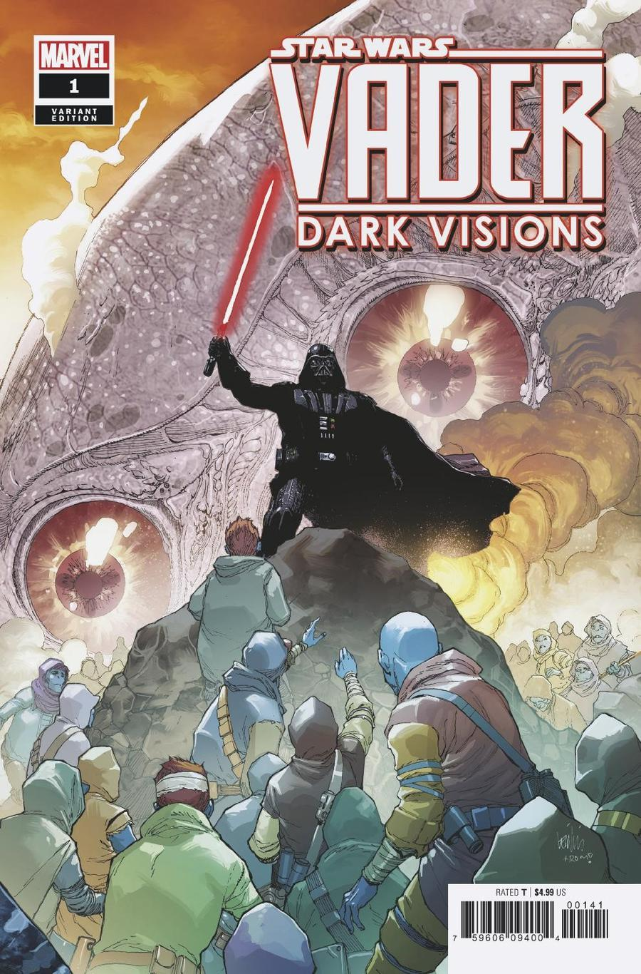 Star Wars Vader Dark Visions #1 Cover C Incentive Leinil Francis Yu Variant Cover