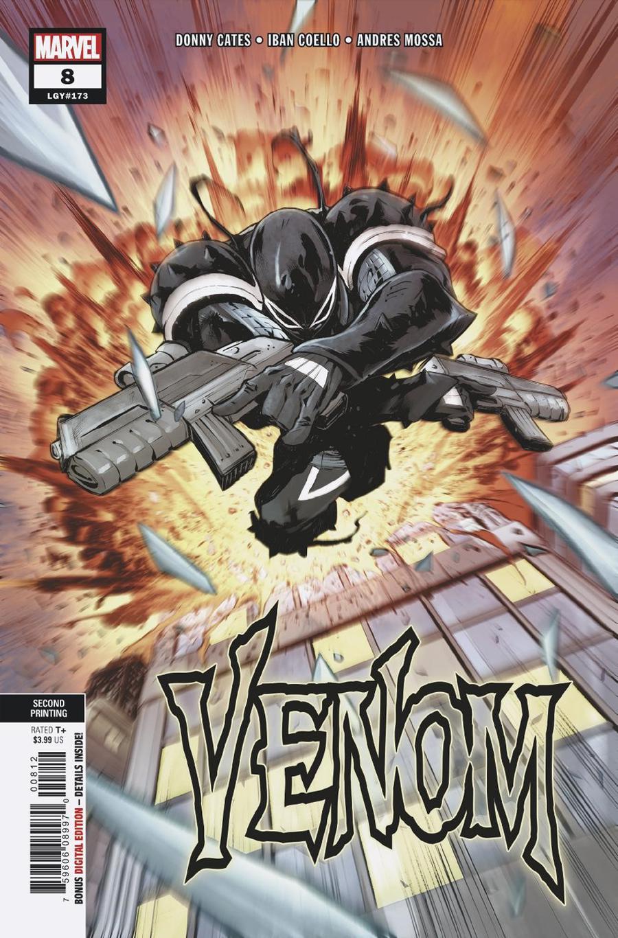 Venom Vol 4 #8 Cover C 2nd Ptg Variant Cover