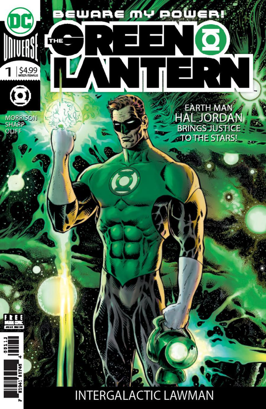 Green Lantern Vol 6 #1 Cover J 2nd Ptg Variant Liam Sharp Cover