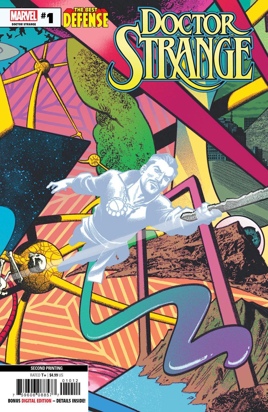 Defenders Doctor Strange #1 Cover F 2nd Ptg Variant Greg Smallwood Cover (Best Defense Part 3)