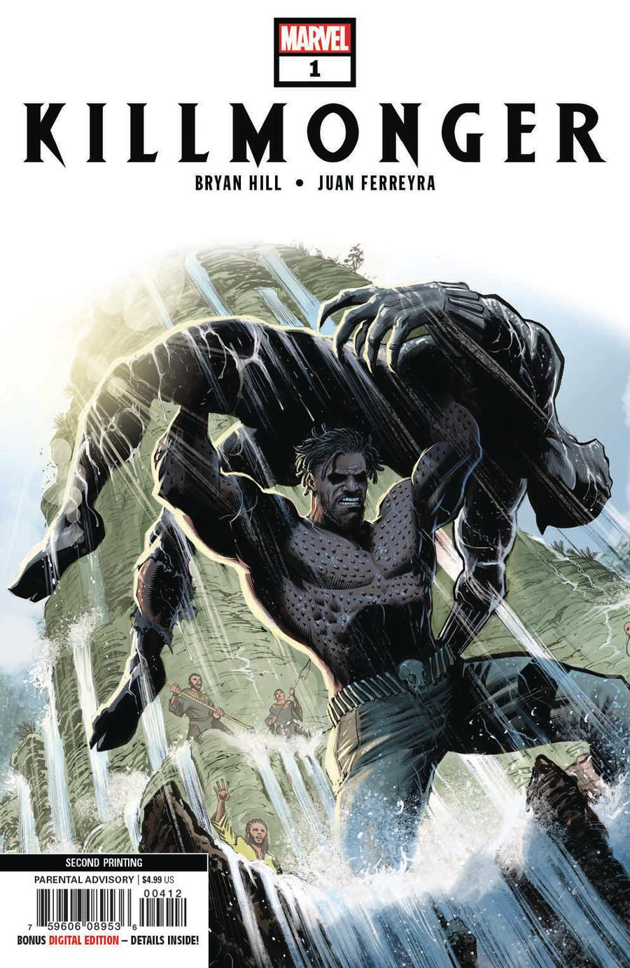 Killmonger #1 Cover E 2nd Ptg Variant Juan Ferreyra Cover