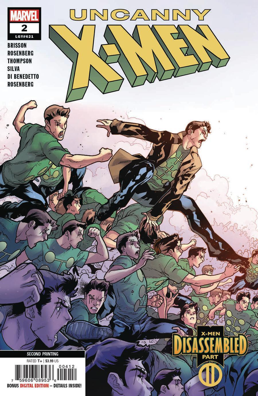 Uncanny X-Men Vol 5 #2 Cover D 2nd Ptg Variant RB Silva Cover