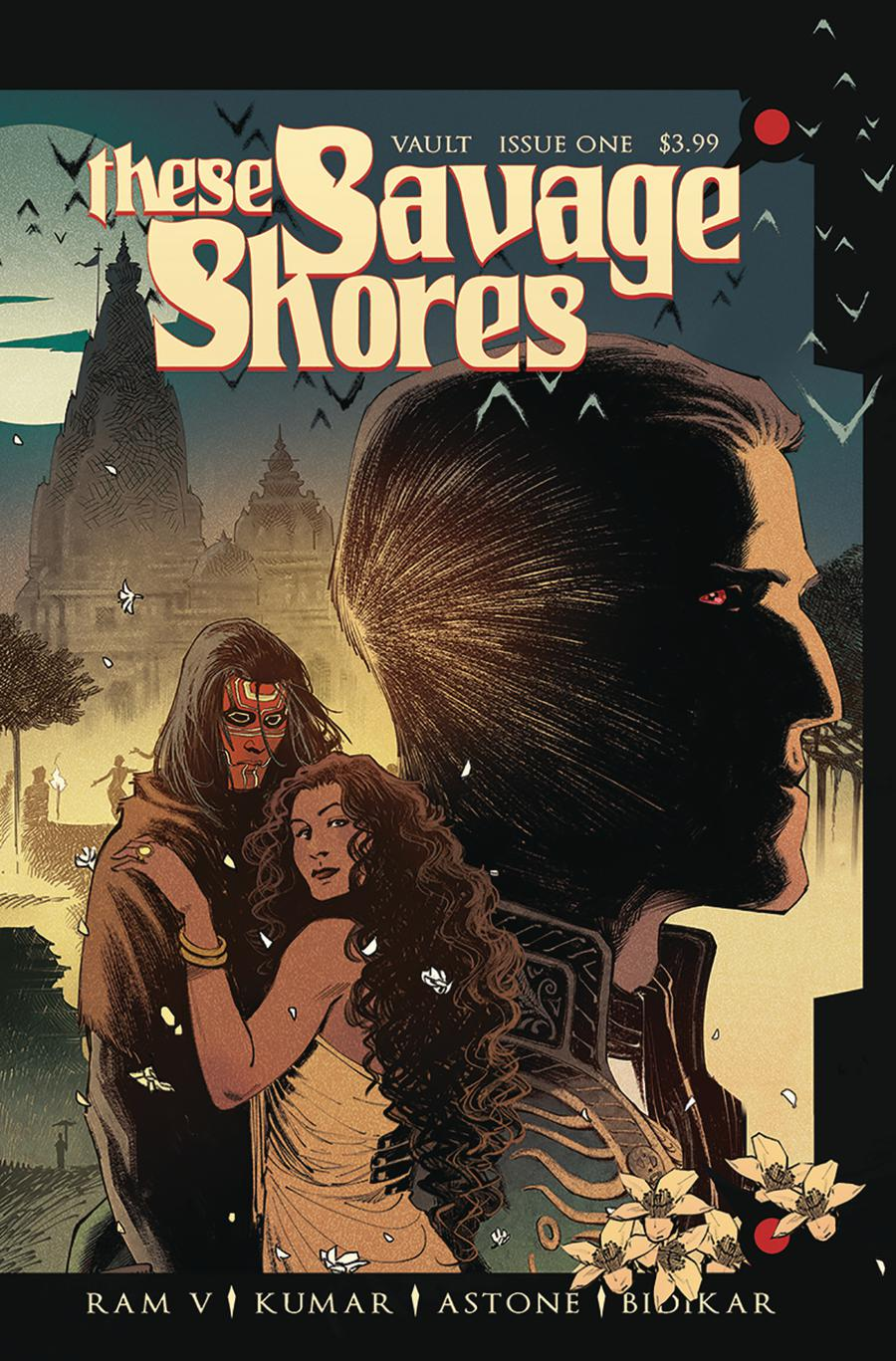 These Savage Shores #1 Black and White Kumar Variant