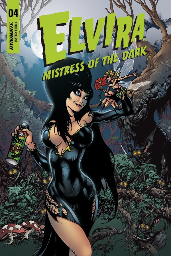 Elvira Mistress Of The Dark Vol 2 #4 Cover E Incentive Roberto Castro Variant Cover