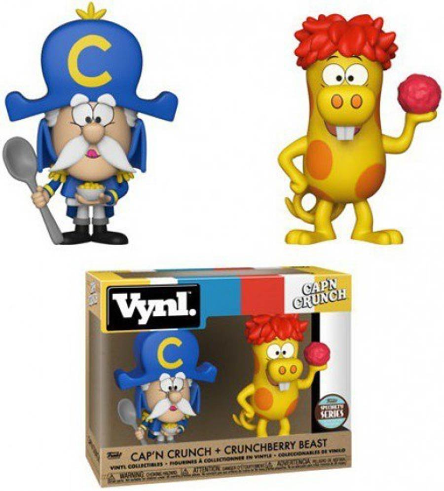 Vynl. Ad Icons CapN Crunch And Crunchberry Beast 2-Pack Vinyl Figure